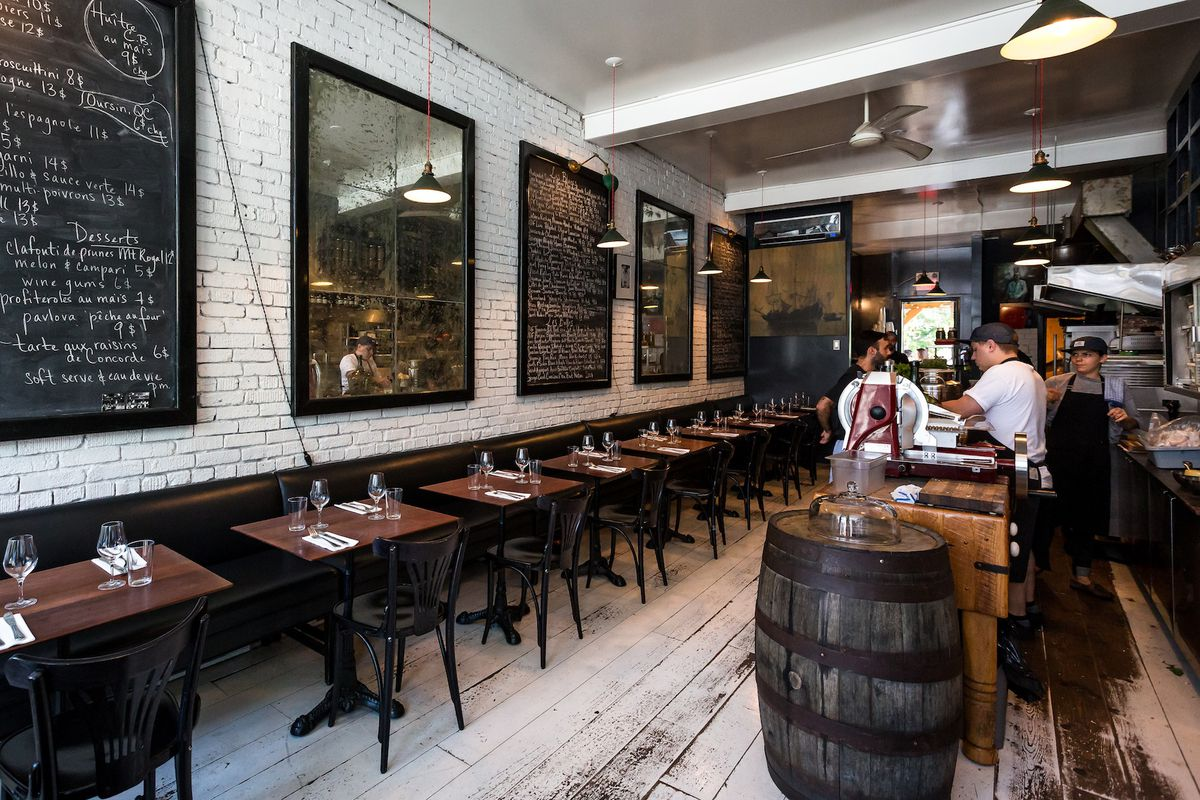 Enjoy Your First Look at Joe Beef's New and Improved Le Vin Papillon Wine Bar