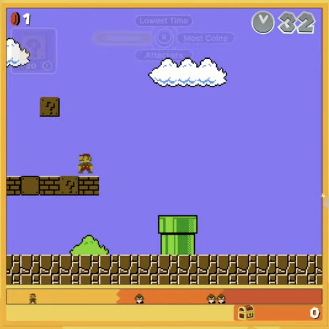 Super Mario Bros 35 Turns Classic Mario Gameplay Into A 35 Person Battle Royale The Verge