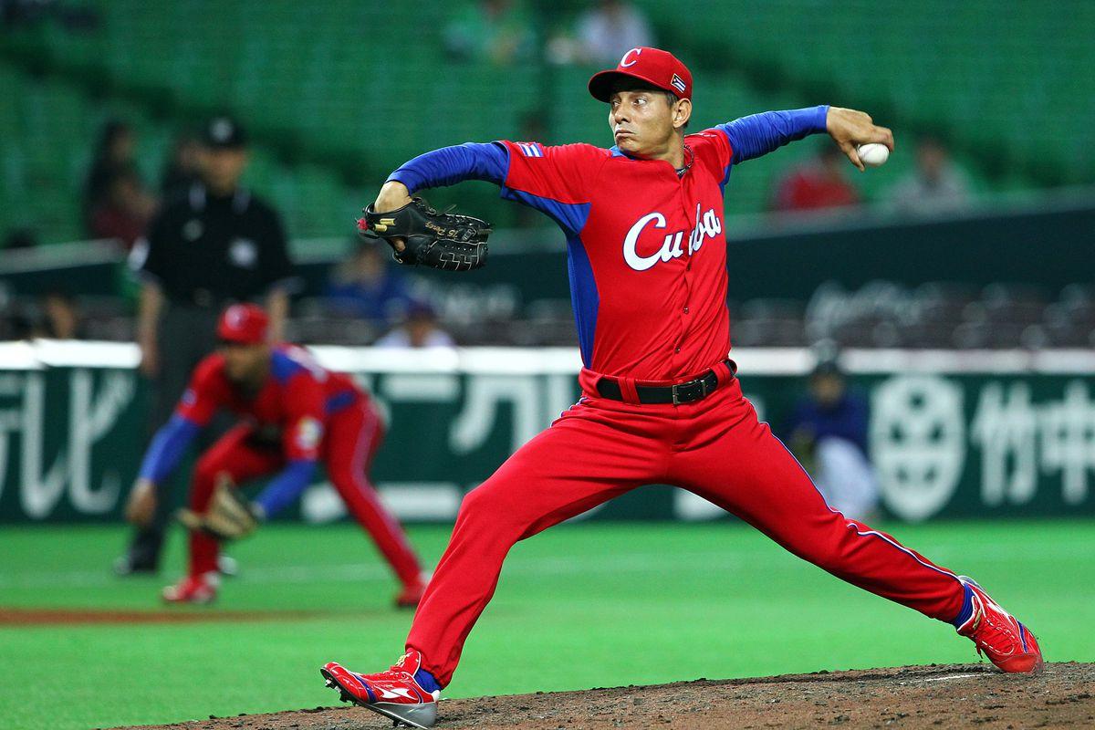 Nice uniforms for Cuba.