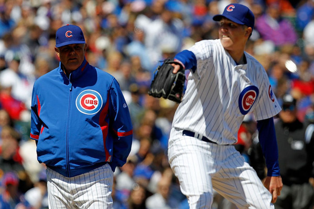 Tom Gorzelanny threw well today. Let's hope he's not seriously hurt.