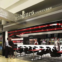 Local Headlines Bar will bring a gastropub environment to the airport