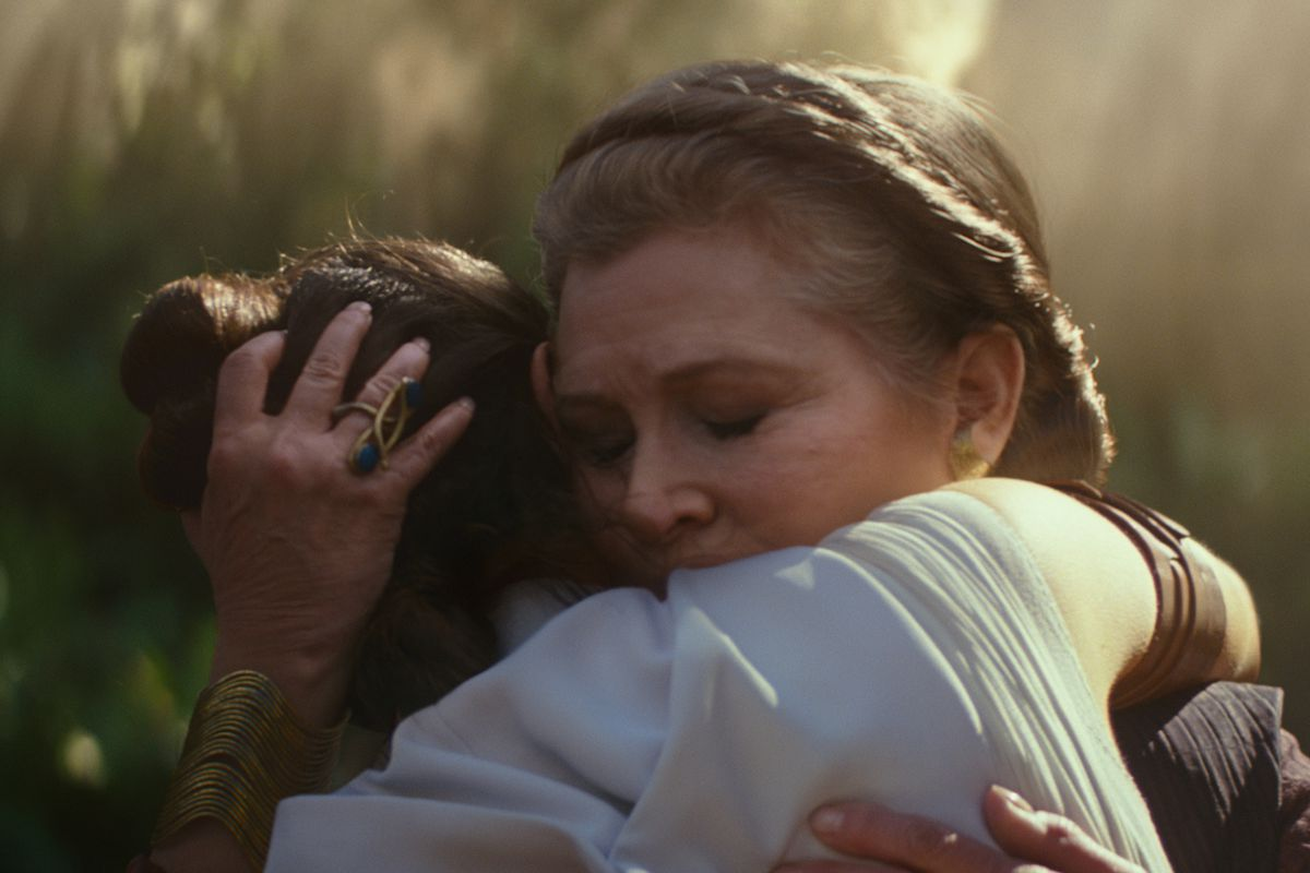 The Leia Scenes In Star Wars The Rise Of Skywalker Came At A Cost Polygon