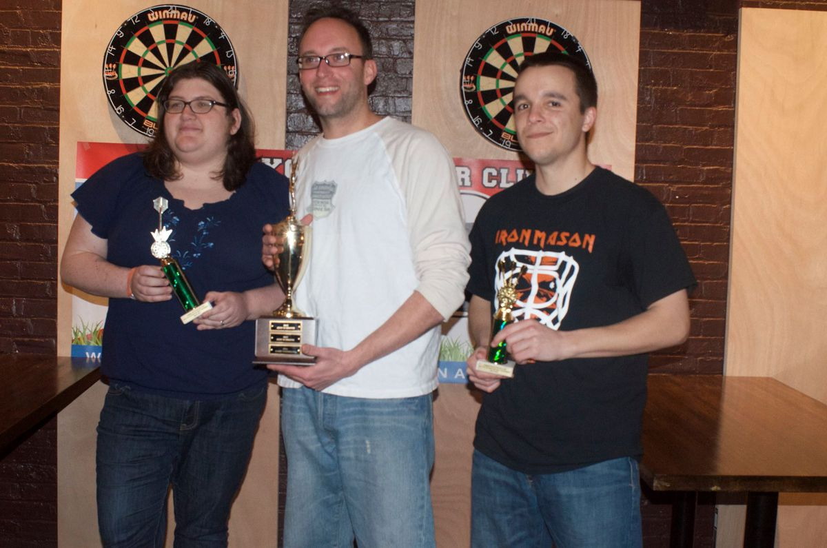 CYSC dart tournament winners
