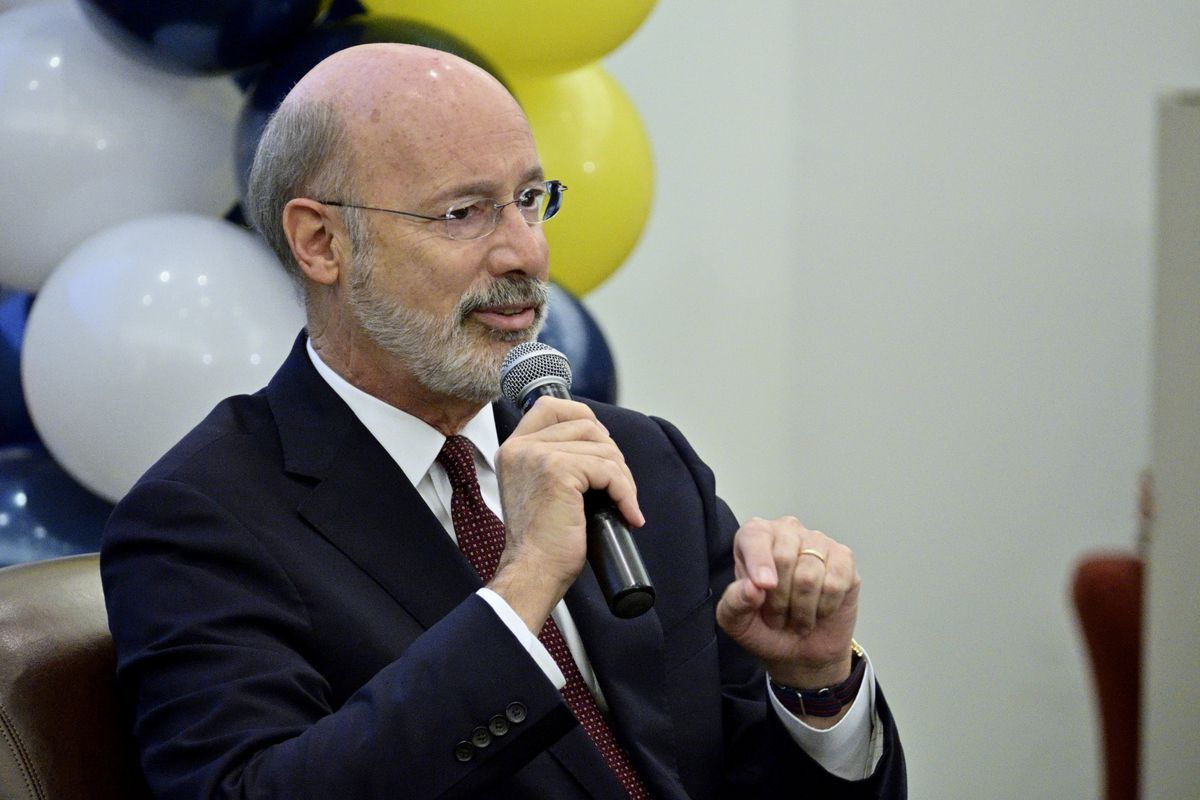 Pennsylvania Gov. Tom Wolf (D)