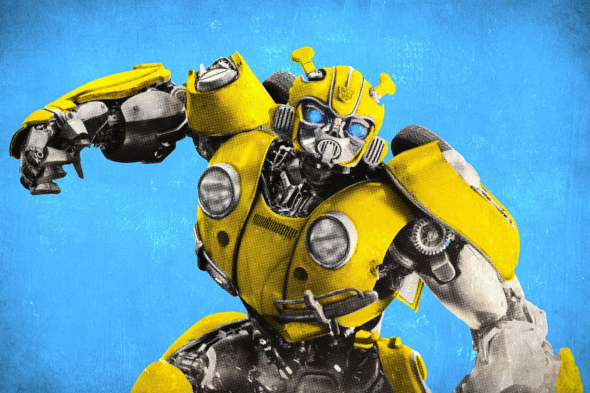 A yellow Autobot Transformer named Bumblebee