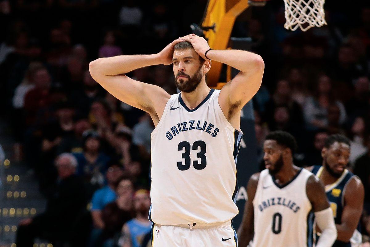NBA: Memphis Grizzlies at Denver Nuggets