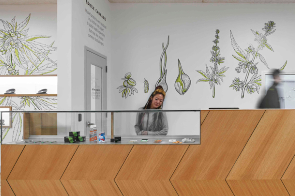 A budtender works at Dispensary 33 in Uptown.   Dispensary 33/provided photo