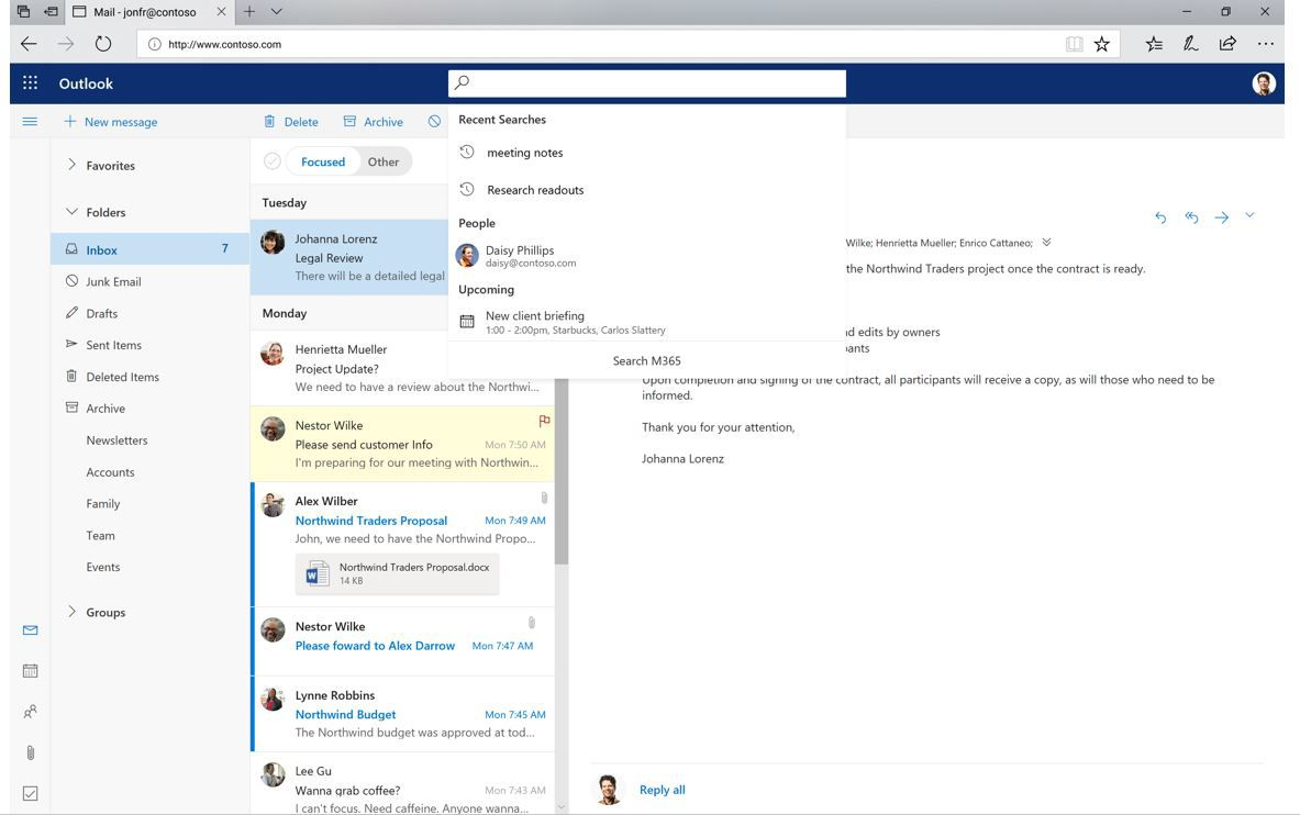 Microsofts Redesigned Outlook Is Now Available On Windows And The