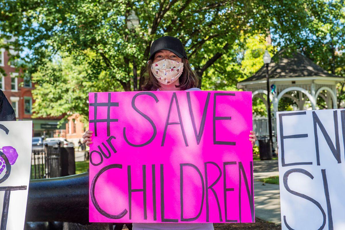 US-CRIME-CHILDREN-PROTEST
