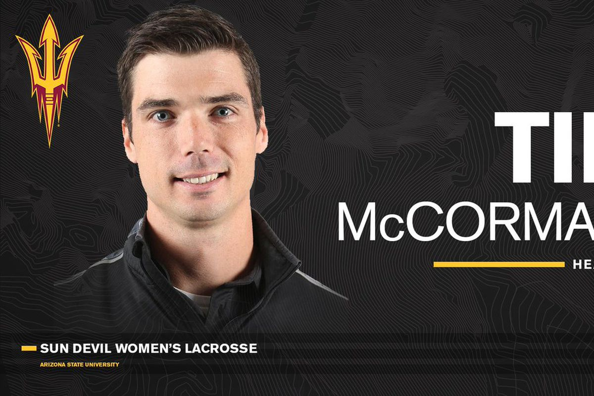 ASU Lacrosse: Getting to know more about new head coach Tim McCormack