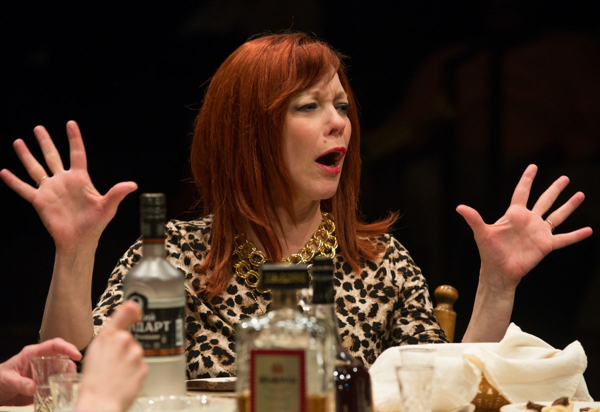 """Mariann Mayberry in """"Russian Transport."""" 