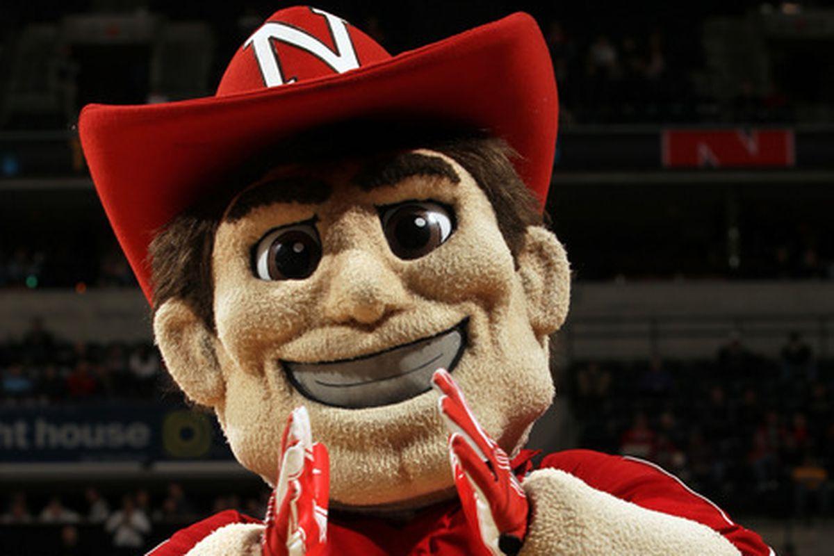 Nebraska's X-factor? Creepy, creepy mascots.