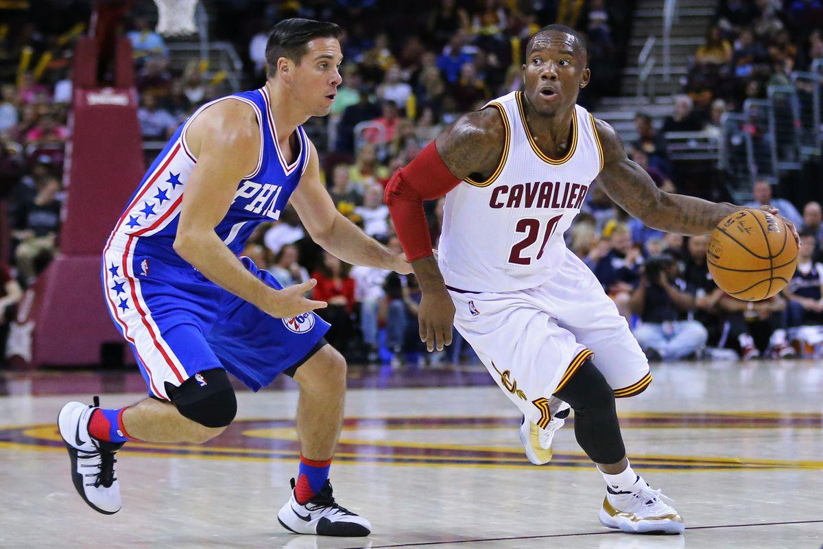 NBA: Preseason-Philadelphia 76ers at Cleveland Cavaliers