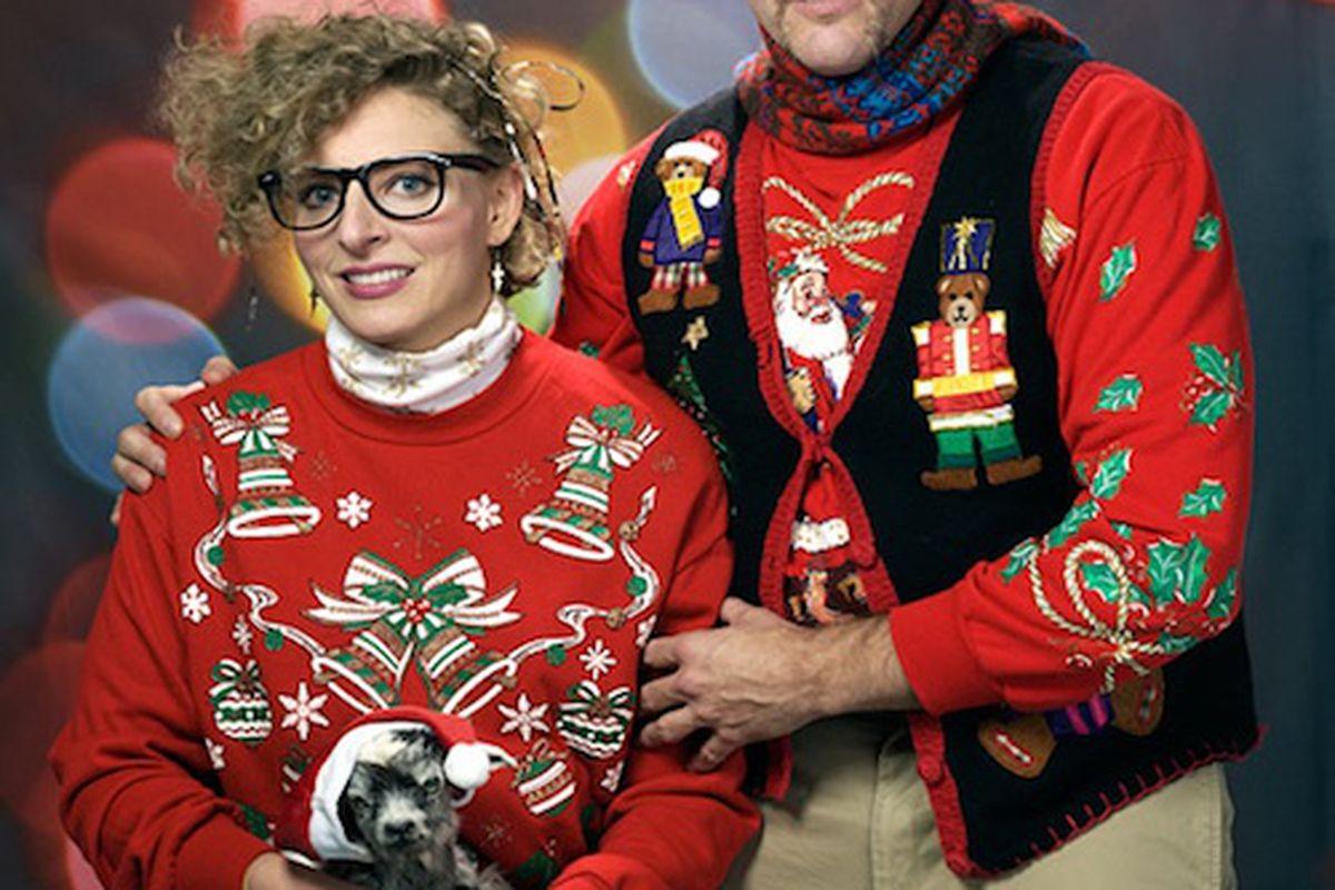"""Photo: <a href=""""http://egotvonline.com/2011/12/08/25-ugly-christmas-sweaters/"""">EgoTV</a>"""