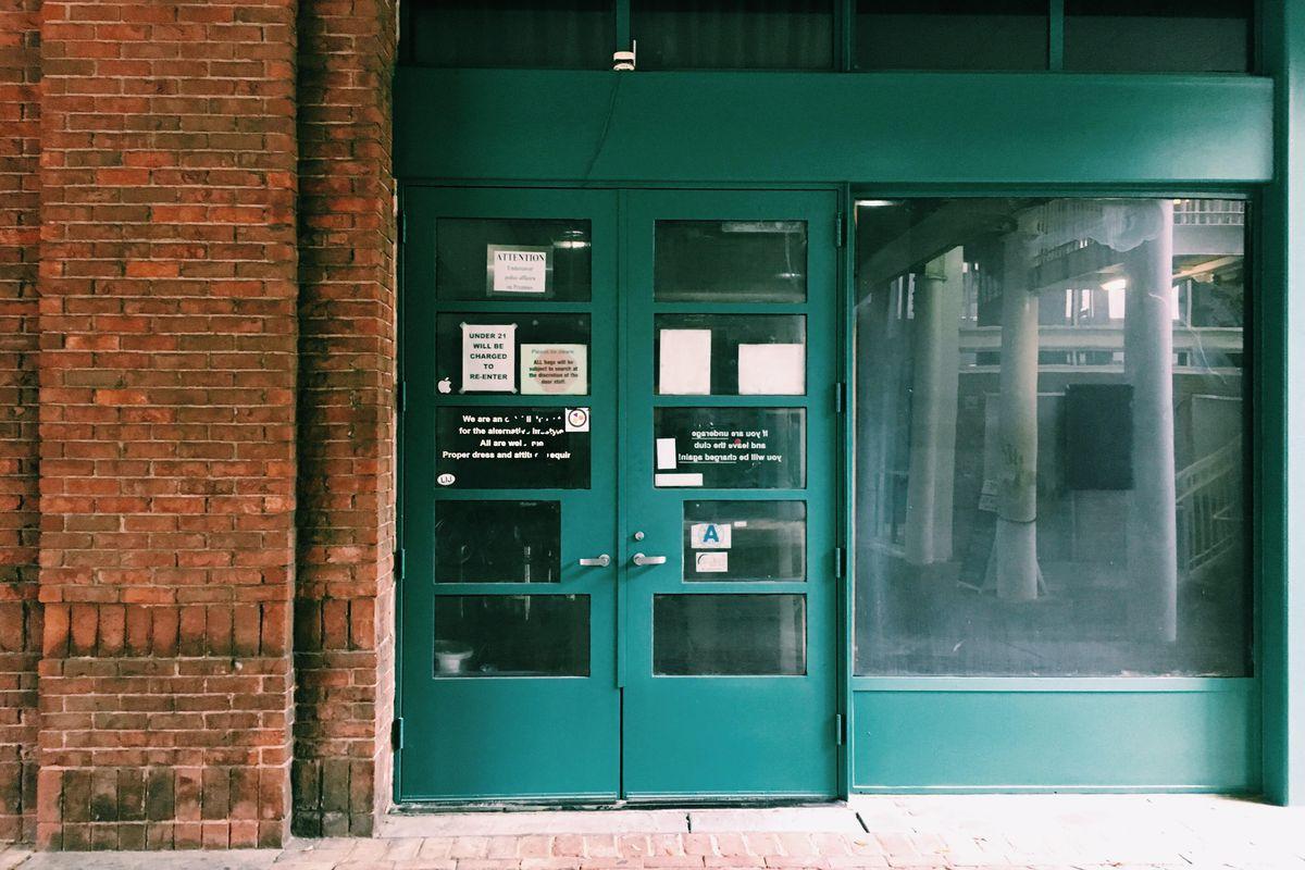 Door to former Pantheon