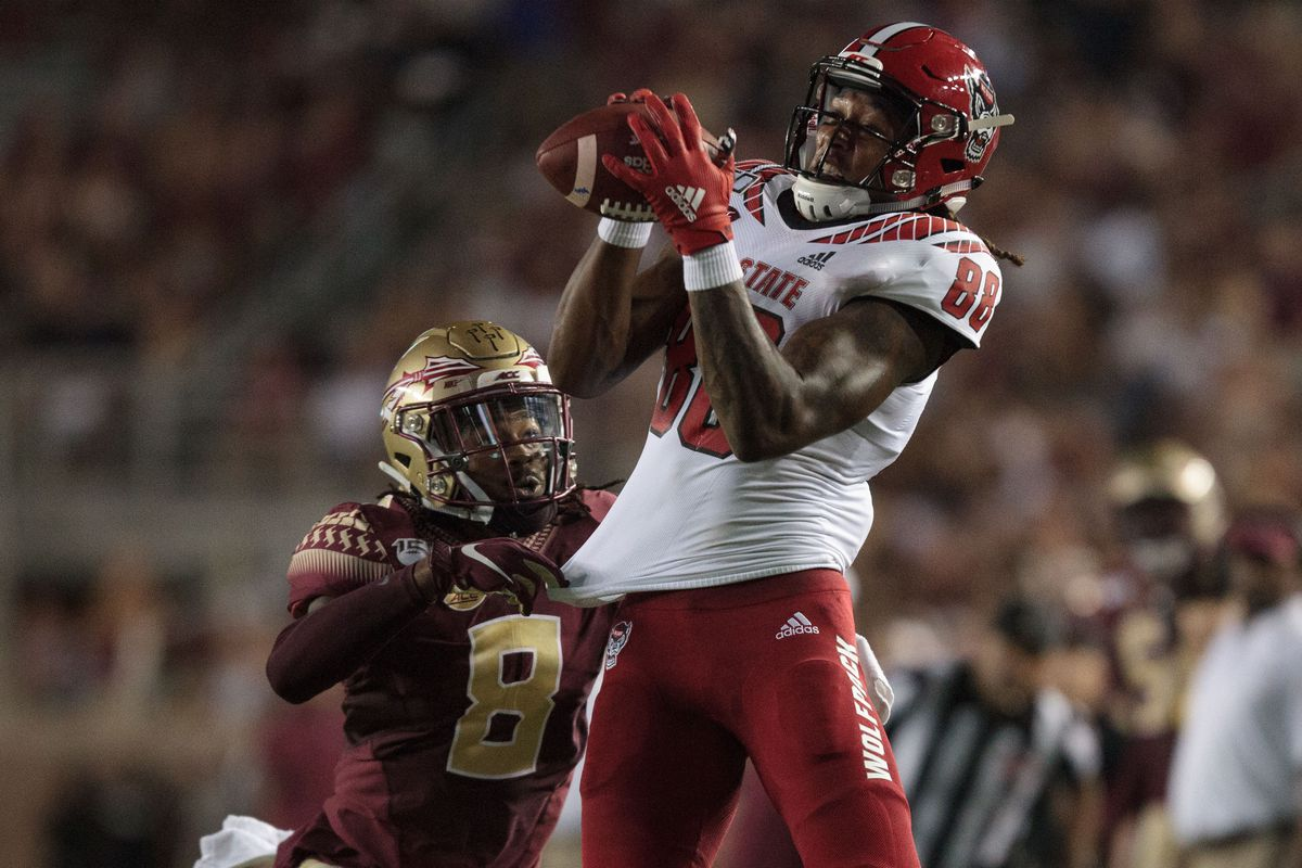 COLLEGE FOOTBALL: SEP 28 NC State at Florida State
