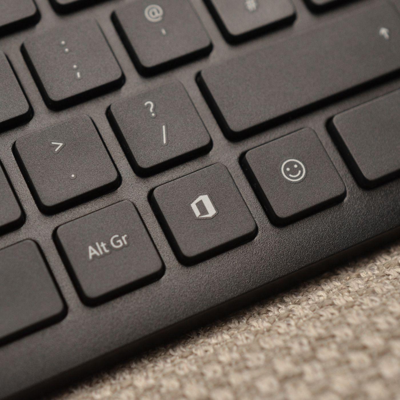 theverge.com - Tom Warren - Microsoft has put dedicated Office and emoji keys on its new keyboards