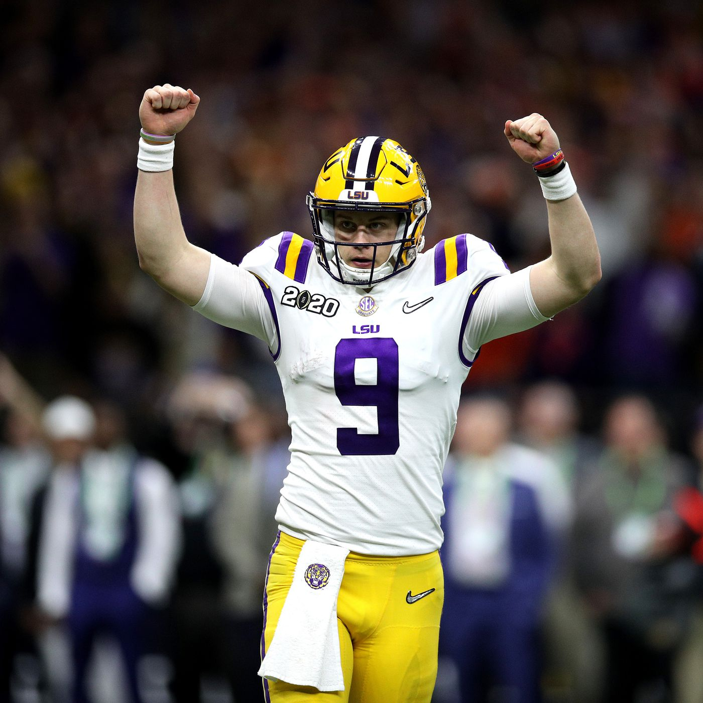 Nfl Draft Profile Lsu Tigers Joe Burrow Is The Ideal Imperfect Quarterback Prospect Cincy Jungle Joe burrow hasn't stepped into a cincinnati bengals huddle yet, but he has already shown his new burrow certainly has a measure of cache given his success last year at lsu, but he's yet to play a. nfl draft profile lsu tigers joe