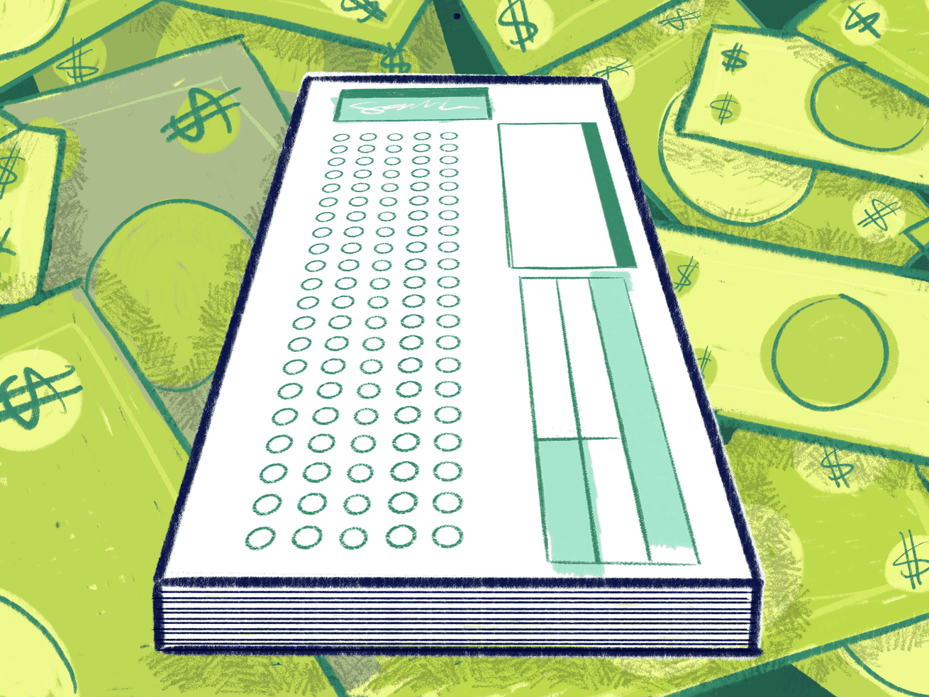 Standardized tests are prohibitively expensive for some students.