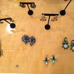 Earrings, $100-$150 each
