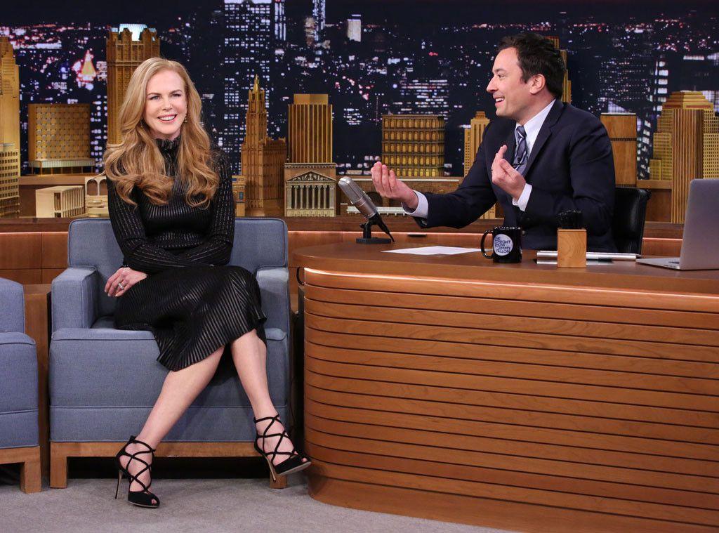 Jimmy Fallon Nicole Kidman