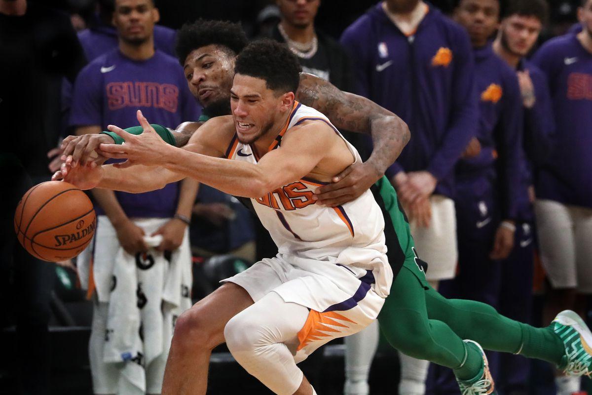 Phoenix Suns Vs. Boston Celtics at TD Garden