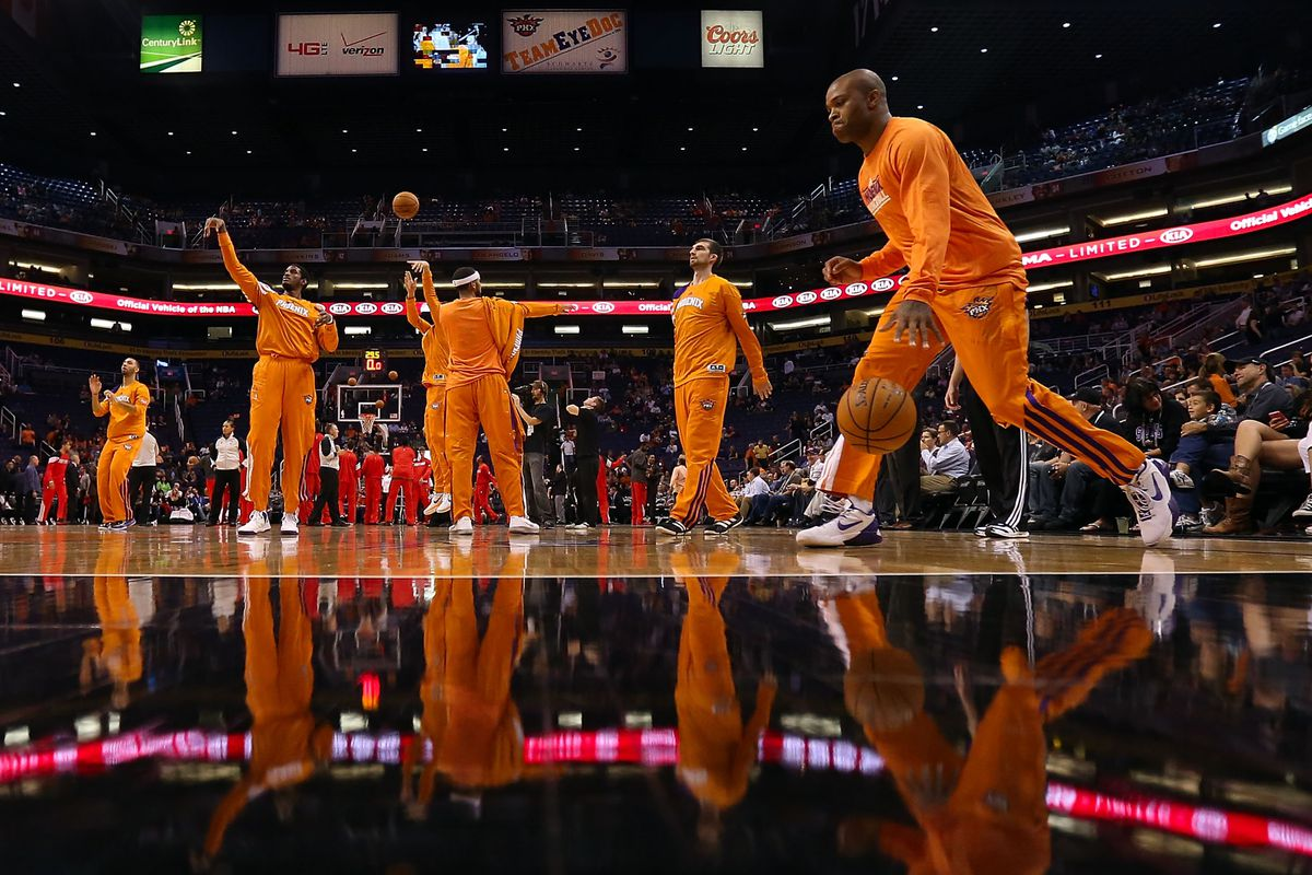 The Suns are back in orange and black.