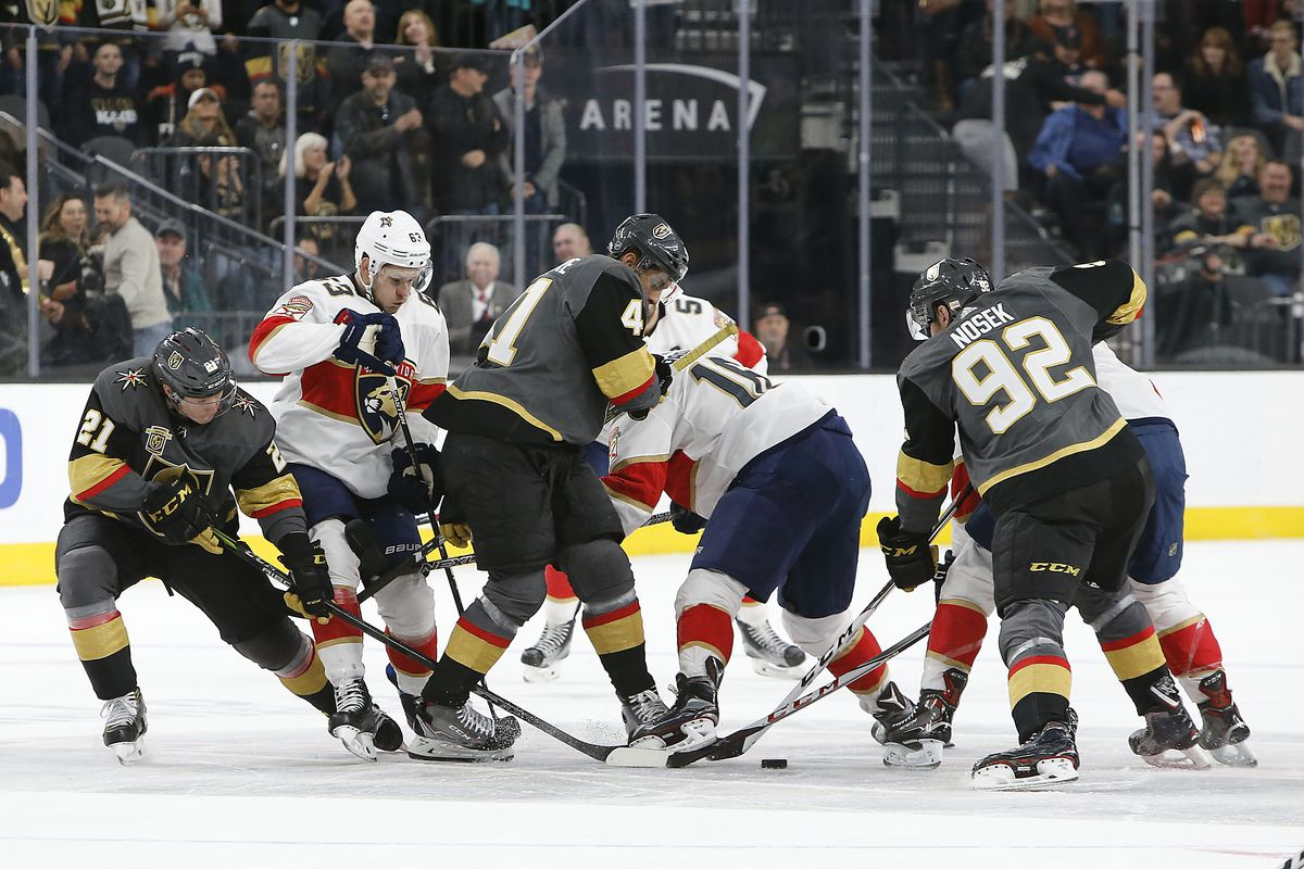 NHL: DEC 17 Panthers at Golden Knights
