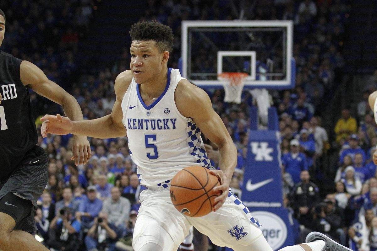 Kentucky basketball freeze frame expanding kevin knoxs offensive calipari wants to see knox take it to the rim mark zerof usa today sports ccuart Gallery