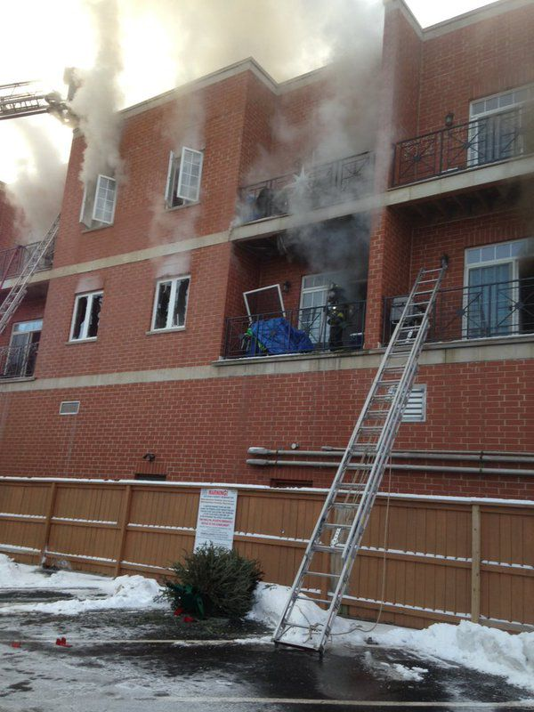 Crews were at the scene of an extra-alarm blaze Wednesday morning in Portage Park.   Fire Media Affairs