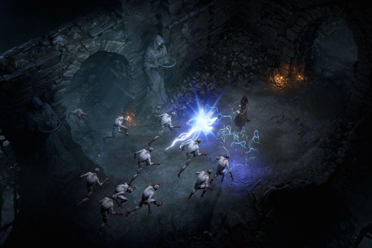 Diablo 4 dungeon wizard