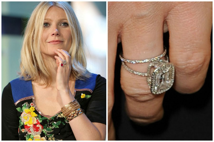 25 Unforgettable Celebrity Engagement Rings Racked