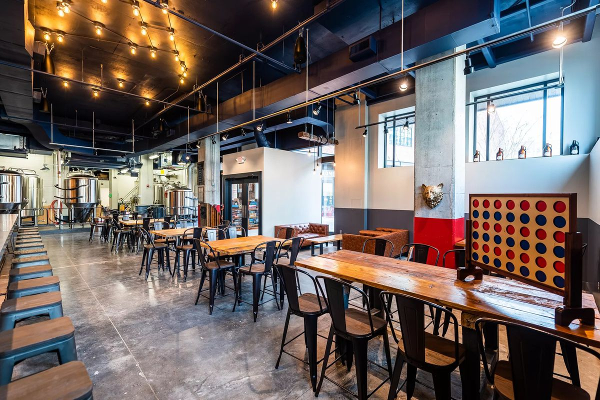 Red Bear Brewing Opens In Noma With A Joke Packed Beer