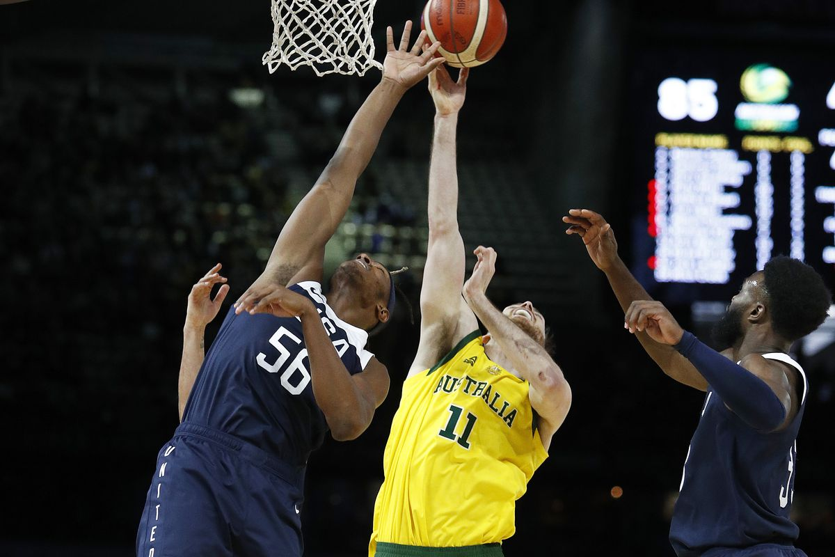 Team USA stunned by Australia in second exhibition game