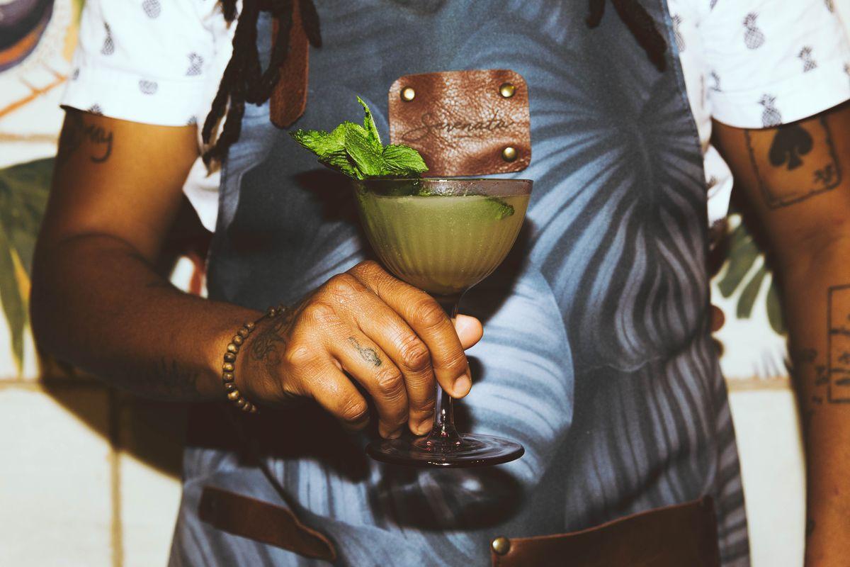 An Amazónica cocktail from Serenata