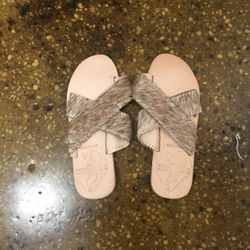 Brother Vellies Country Lamu sandal, $65