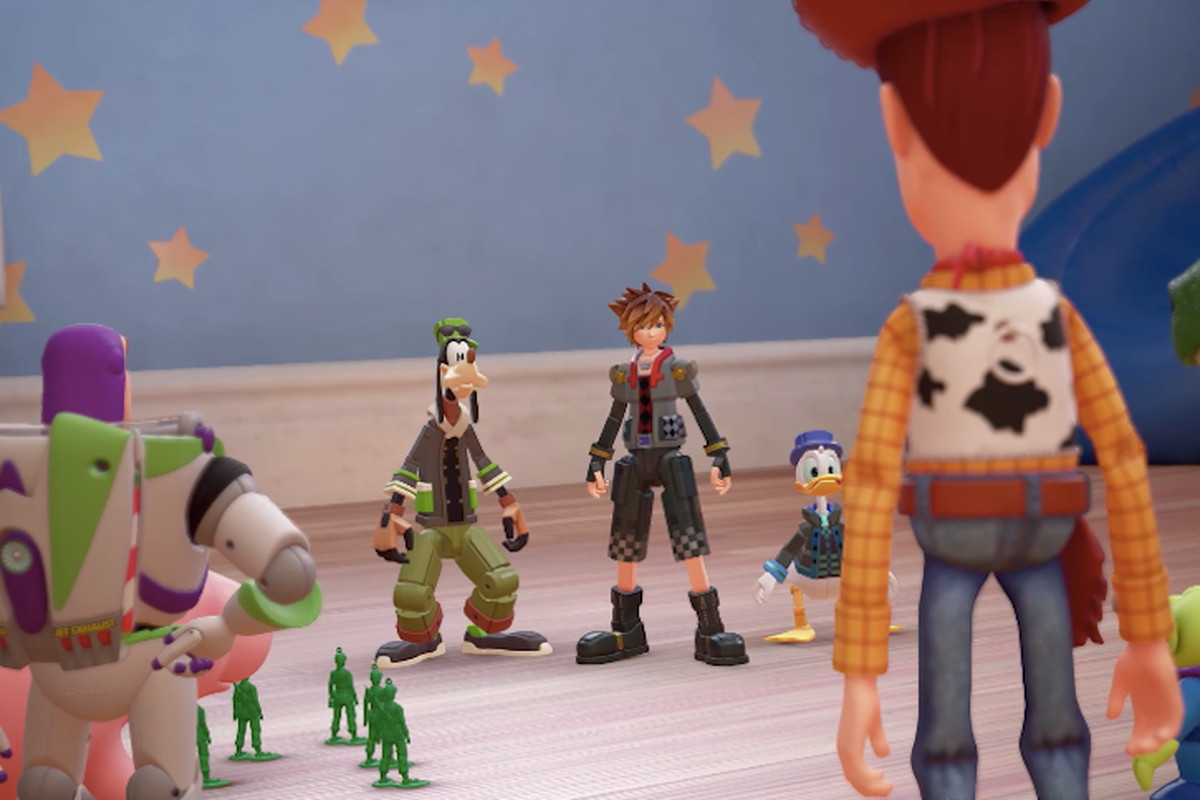 Kingdom Hearts 3 Gives You A Much Bigger Team To Fight With Polygon