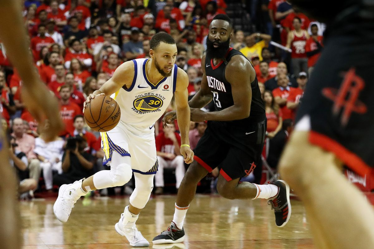 """da6f060f6fdb Watch  Steph Curry saying James Harden would like to """"play different""""  -  Golden State Of Mind"""