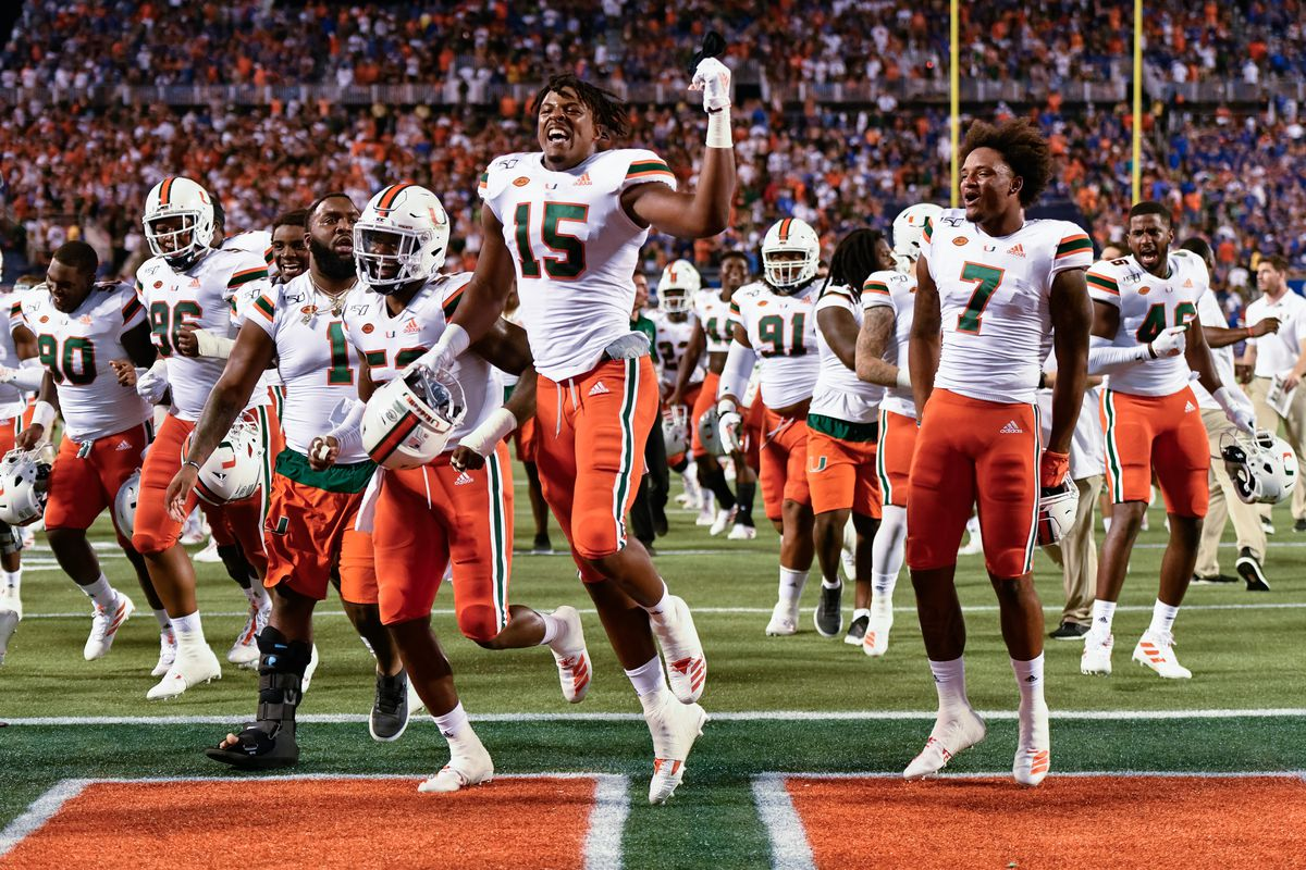 Miami Hurricanes' 2020 Football Schedule Announced - State of The U