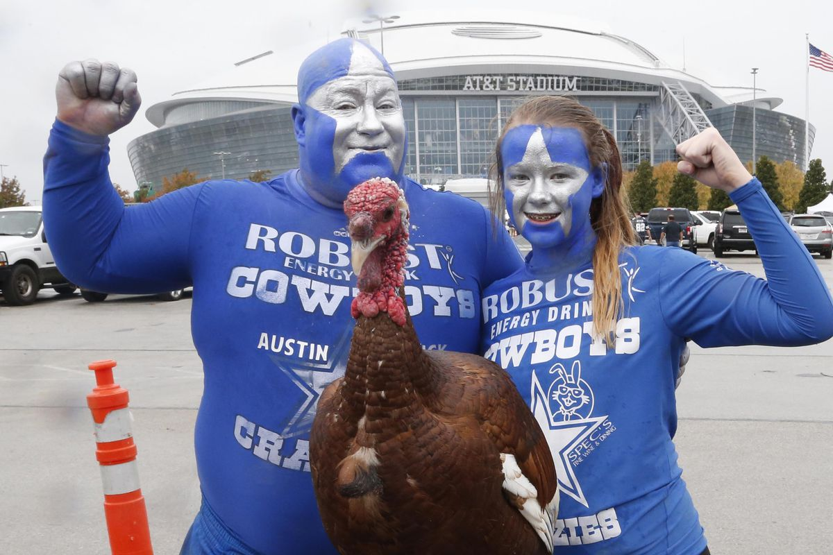 Thanksgiving and the Cowboys - what more can you ask for?