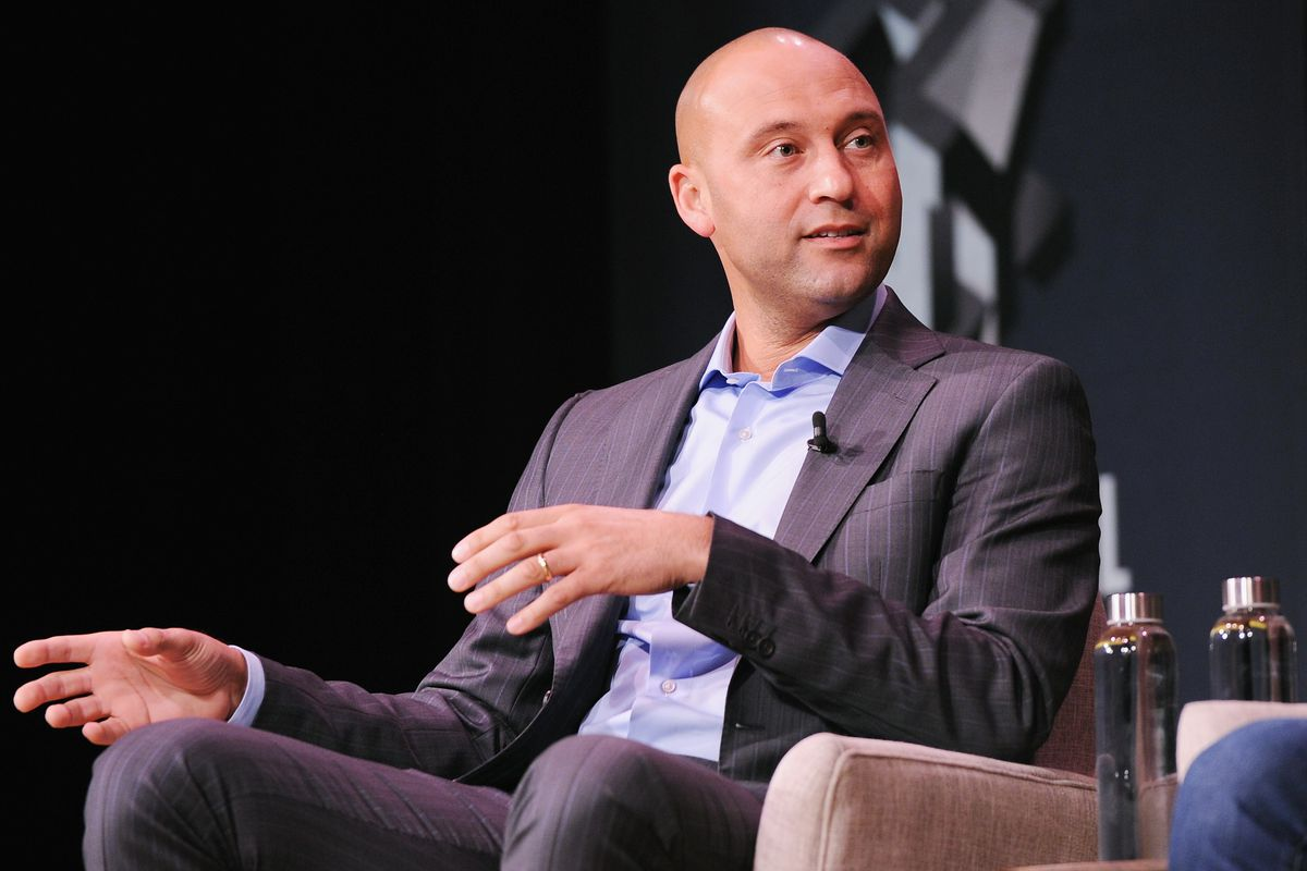 Fast Company Innovation Festival - Derek Jeter On Finding Professional Fulfillment After The Dream Career Featuring Derek Jeter, Founder, The Players' Tribune, And Jeff Levick, CEO, The Players' Tribune