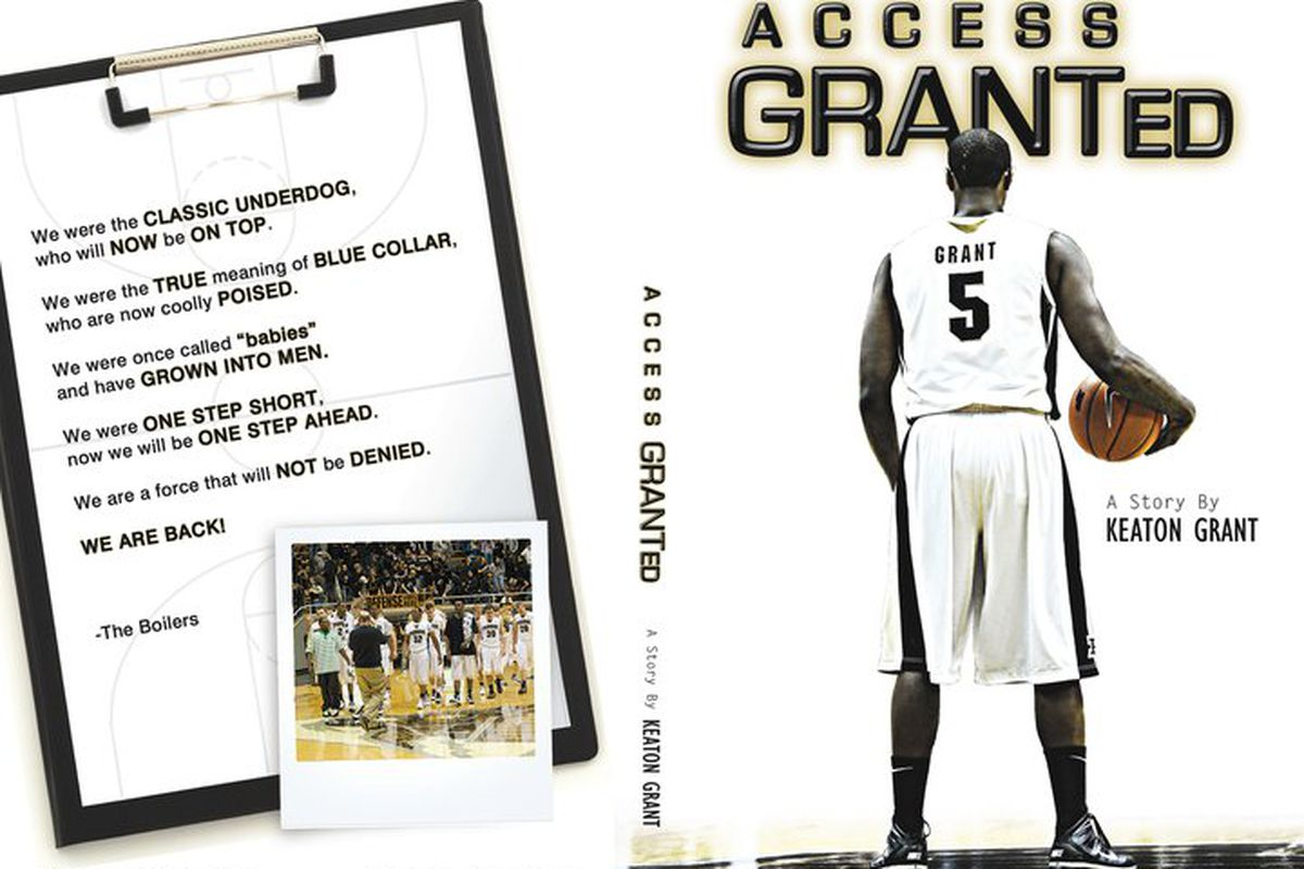 Access GRANTed will be released DECEMBER 8,2010. A easy way to purchase it will be on keatongrant.com-the site wont be available until dec. 1. STAY TUNED. It will be also available on amazon.com and book stores.