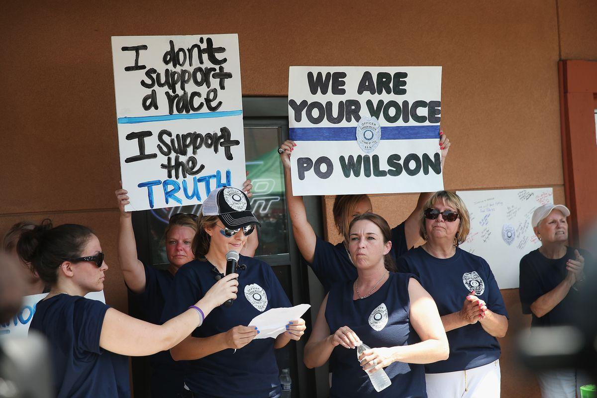 Wilson supporters