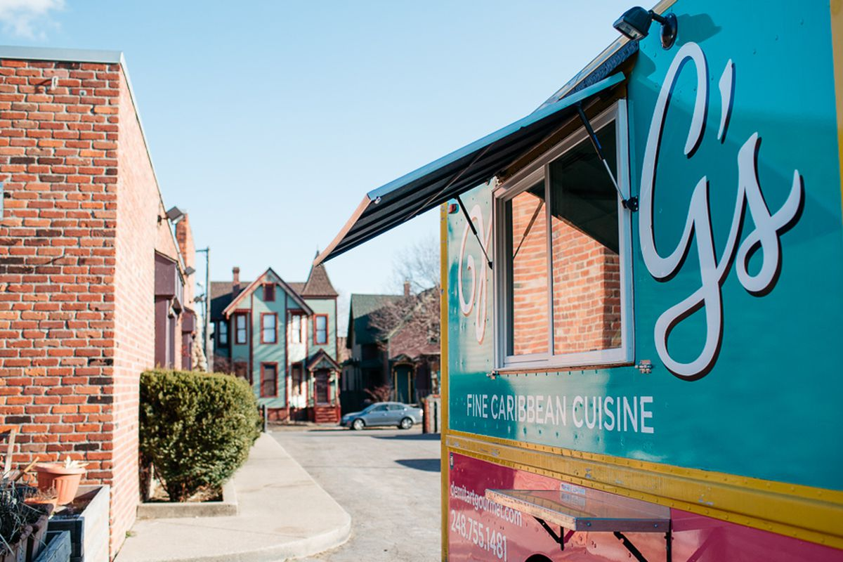 Norma G's Caribbean food truck debuted earlier this year.