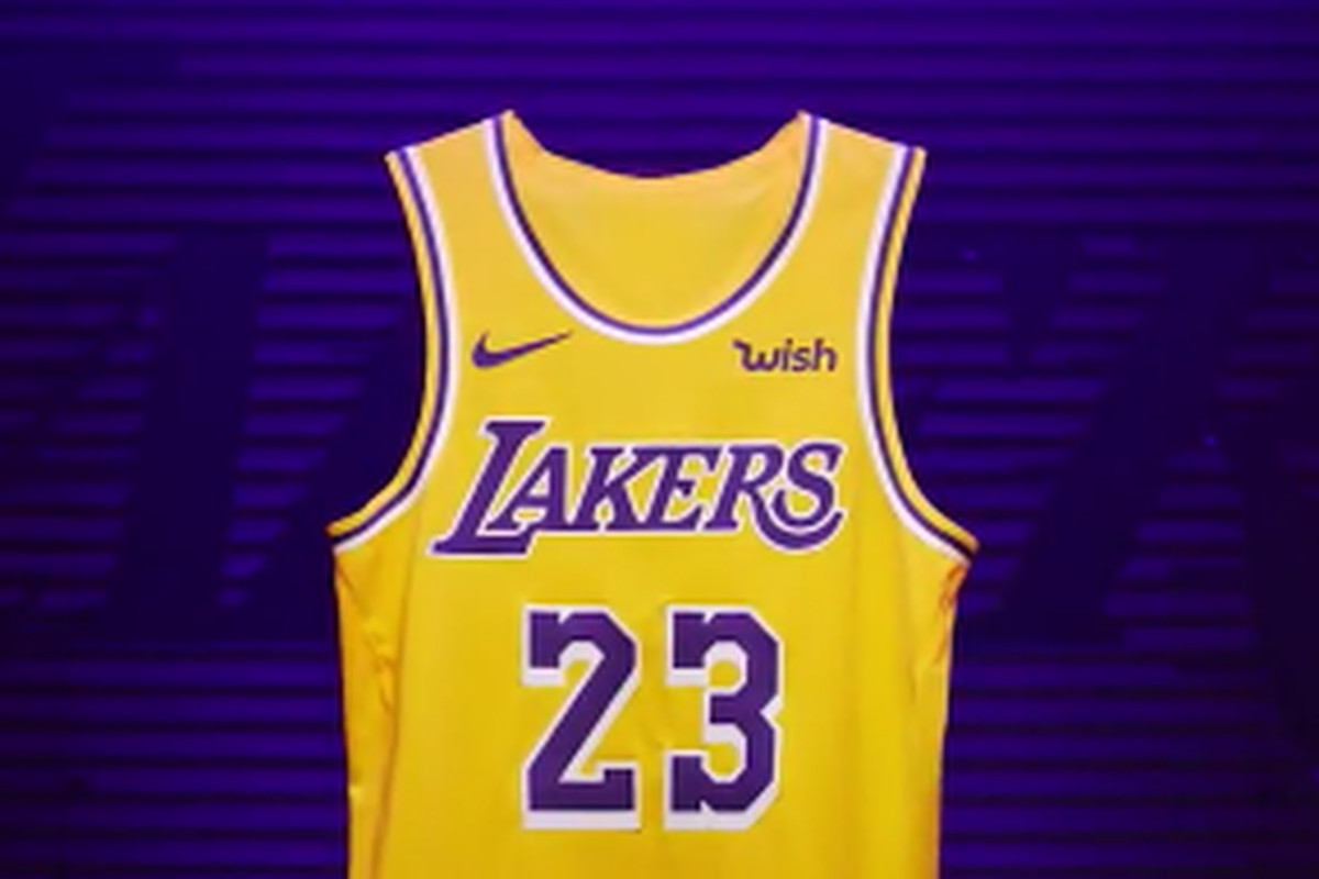 new style 097fe 1345e Lakers unveil new, Showtime inspired Nike jerseys - Silver ...