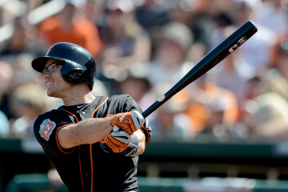 Kelby Tomlinson's outfield audition didn't go so well, but given the Giants' needs, he still has a shot at a bullpen role.