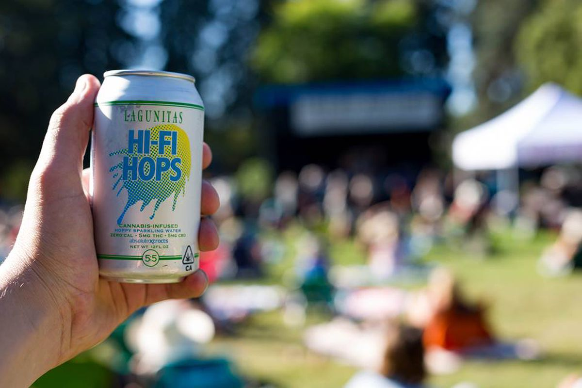 Lagunitas Brewing Releases Cans of THC-Infused Sparkling