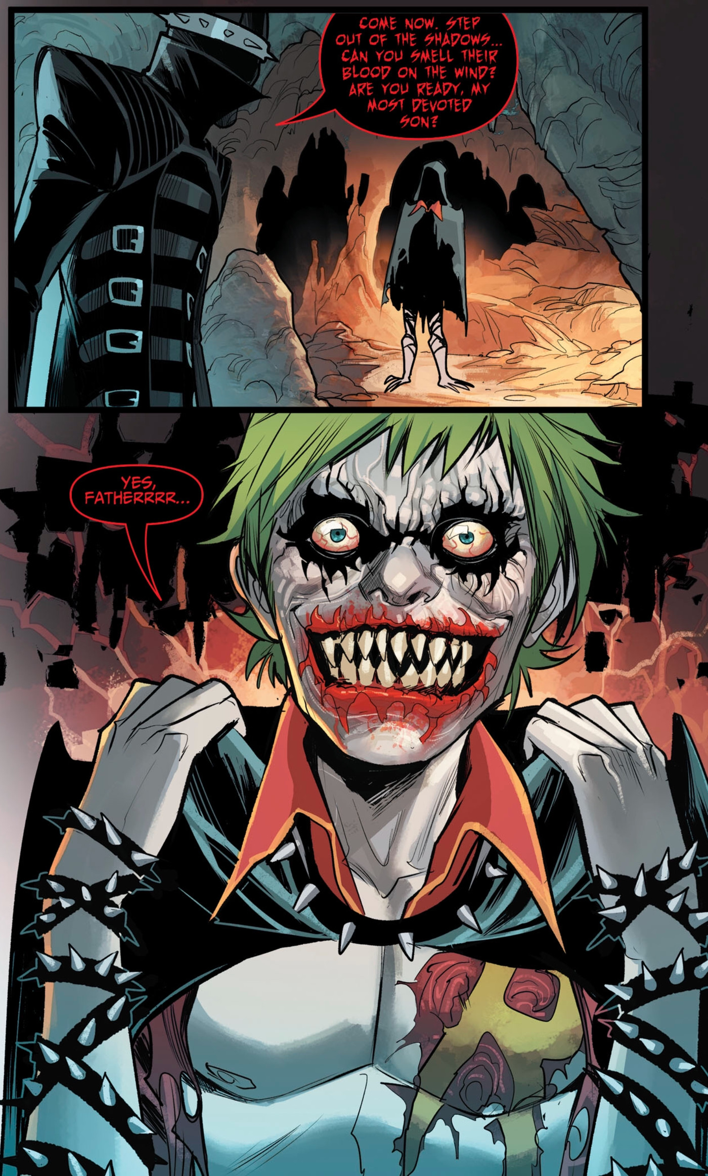 The Batman Who Laughs Makes A Horrifying Cannibalistic Debut