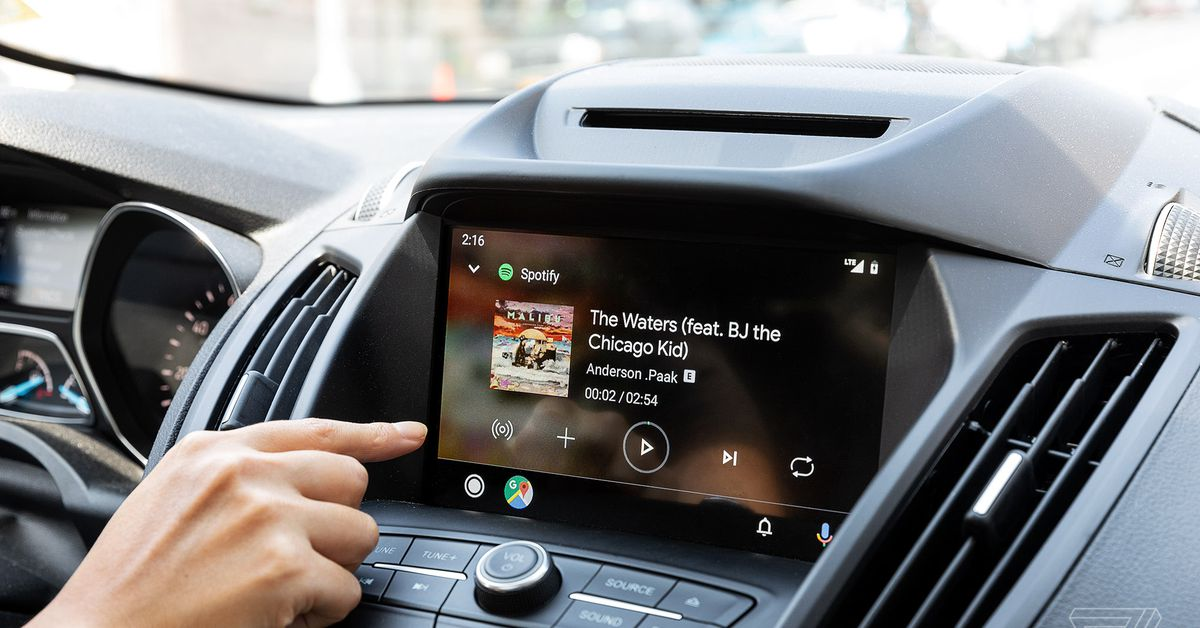 Samsung phones now work with wireless Android Auto