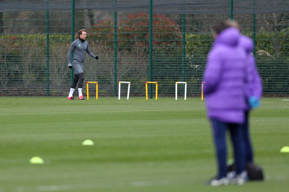Tottenham Hotspur Press Conference And Training Session